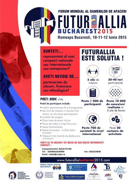 FUTURALLIA BUCURESTI 2015