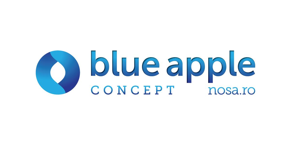 Blue-Apple-Concept-LOGO