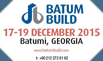 BATUMBUILD 2015 – Expoziţia Internaţională pentru Materiale de Construcţii şi Tehnologii