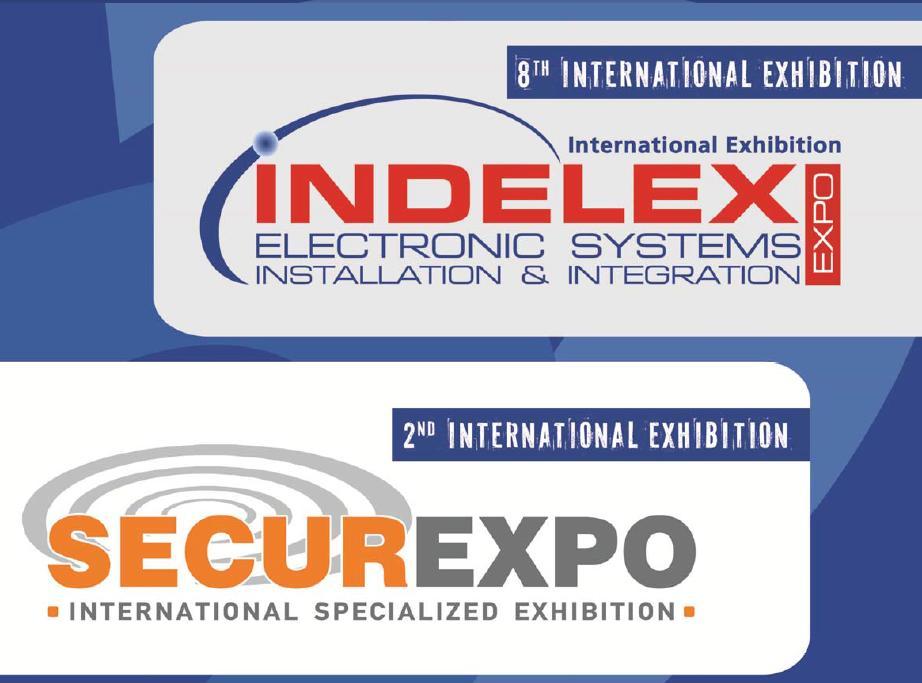 Expoziţia Internaţională INDELEX-SECUREXPO 2016