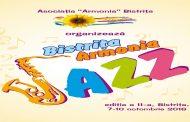 Festivalul Bistriţa Armonia Jazz, ediţia a II-a, 7-10 oct. 2016