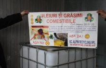 Campanie de colectare a uleiului uzat alimentar de la populatia din Municipiul Bistrita