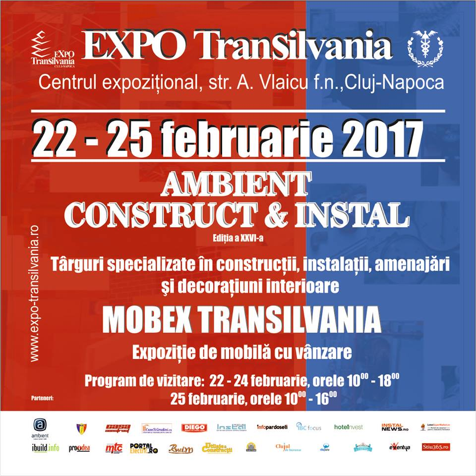 AMBIENT CONSTRUCT&INSTAL ELECTRIC 2017, in perioada 22-25 februarie 2017
