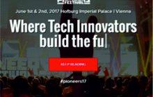 """Pioneers Festival 2017"" organizat ȋn perioada 01-02 iunie 2017 la Viena"