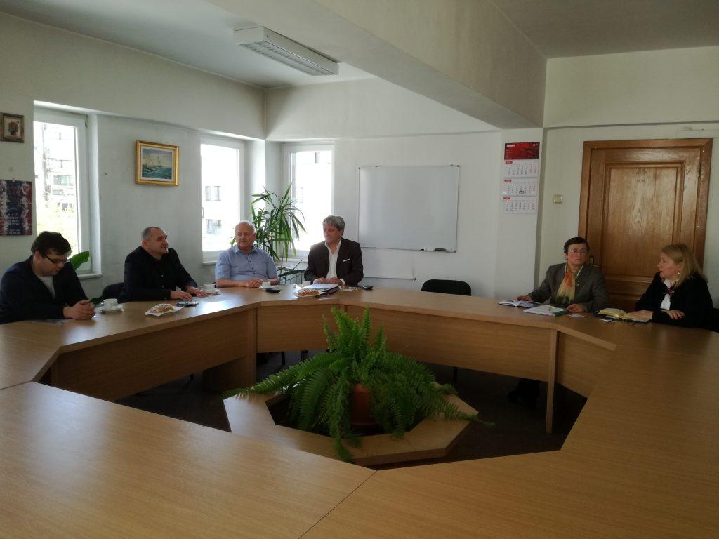 Intalnire cu reprezentanti ai cluster-ului agro-alimentar