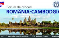 Forumul de afaceri multisectorial Romania – Cambodgia