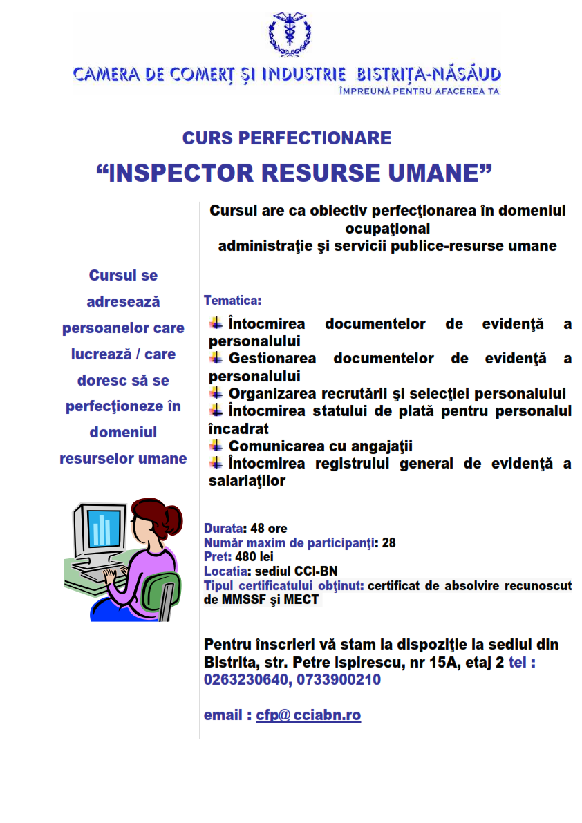 Curs Inspector resurse umane-14.11.2017