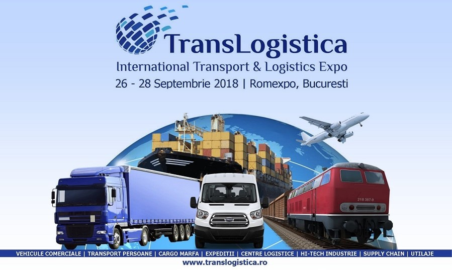 A 4 a Editie a Salonului International de Transport, Logistica, IT si Supply Chain.