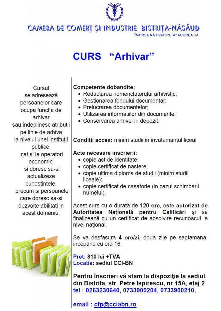 Curs Arhivar