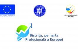"""Comunicat de presa - Proiect """"Bistrița, pe harta profesională a Europei"""""""