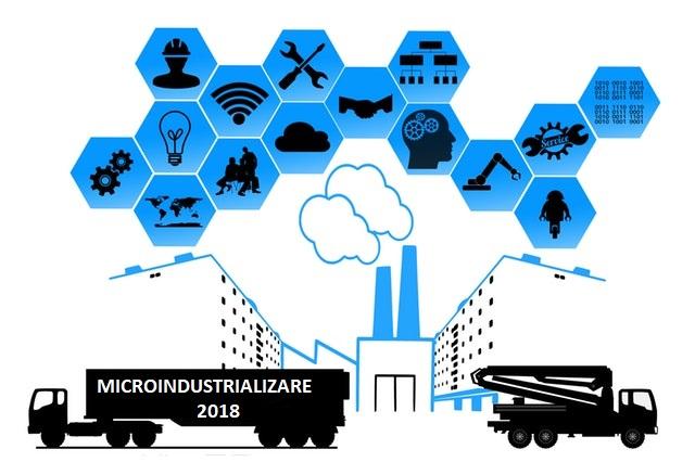 Urmează lansarea programului de Microindustrializare 2018! Până la 450.000 lei pentru fiecare beneficiar