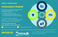 Comunicat de presa - Premiul pentru Inovare MOVECO 2019