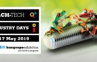 Expozitiile internationale MACH-TECH 2019 si INDUSTRY DAYS  2019 de la Budapesta