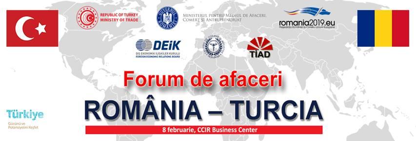 Forumul de Afaceri Romania-Turcia