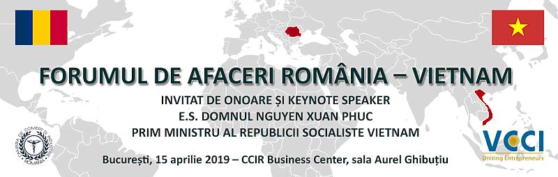 Forumul de Afaceri România - Vietnam