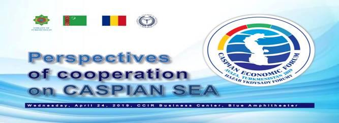 """Seminar cu tema """"Perspective ale cooperării la Marea Caspică"""""""