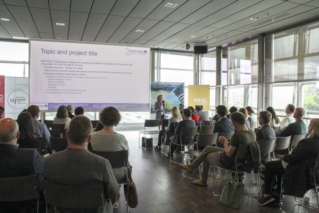 Comunicat de presa - Economia circulară: Proiectul UE MOVECO prezintă premiul pentru Inovare și Strategia transnațională pentru Economia Circulara