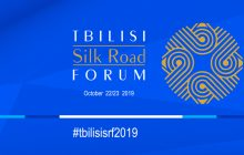 SILK ROAD FORUM, TIBILISI, GEORGIA, 22-23 OCTOMBRIE 2019
