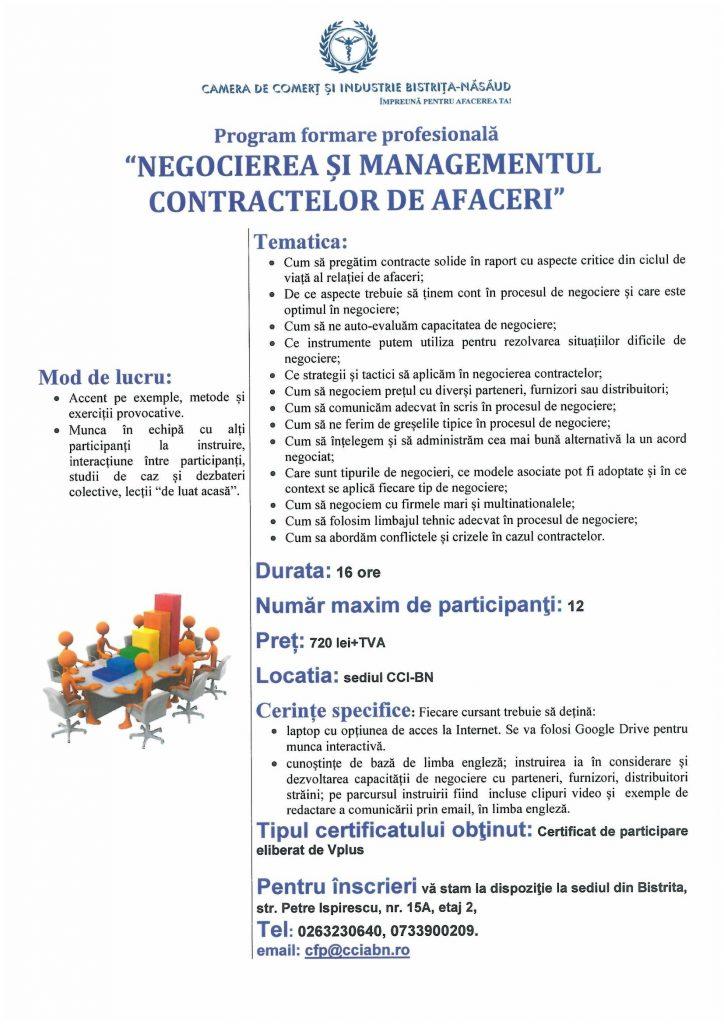 Curs Negocierea si Managementul Contractelor de Afaceri