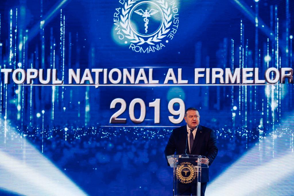 Alocuțiunea Președintelui Camerei de Comerț și Industrie a Românei, dl. Mihai Daraban, susținută în cadrul celei de-a XXVI-a ediții a Galei Topului Național al Firmelor