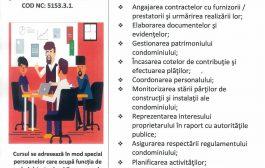 """Curs """"Administrator Condominii"""""""