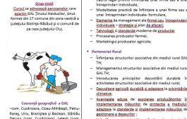 """Curs """"Antreprenoriat rural și parteneriat rural"""" -  Chiochis"""