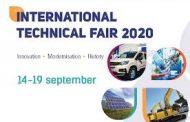 Invitaţie pentru participare la Târgul Tehnic Internaţional Plovdiv 14-19 septembrie 2020