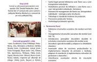 """CURS """"ANTREPRENORIAT RURAL ȘI PARTENERIAT RURAL"""" organizat în cadrul proiectului """"Antreprenor în ținutul Haiducilor''"""