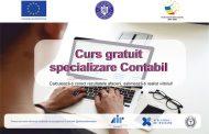Camera de Comerț și Industrie Bistrița Năsăud vine în sprijinul tău, organizează la Bistrița, în perioada următoare (august – septembrie), cursul gratuit de specializare Contabil