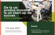 Vino la workshop-ul: De la un produs inovator la un start-up de succes, organizat online, în 7-8 iulie 2021! Poți fi admis cu nota 10 la specializarea Inginerie Economică Industrială